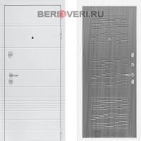 Металлическая дверь Лабиринт Трендо 06 Сандал серый