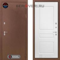 Металлическая дверь Лабиринт Термо Магнит 03 Белый софт