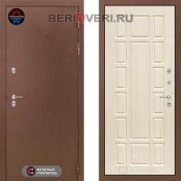Металлическая дверь Лабиринт Термо Магнит 12 Беленый дуб