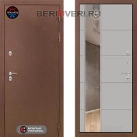 Металлическая дверь Лабиринт Термо Магнит с Зеркалом 19 Грей софт
