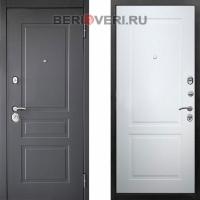 Металлическая дверь Снедо Лорд 2К Белый матовый RAL 9003