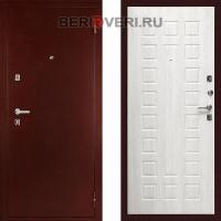 Металлическая дверь Дива С-504 Беленый дуб