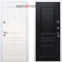 Металлическая дверь REX Премиум H ФЛ-243 Белый / Венге