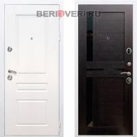 Металлическая дверь REX Премиум H СБ-18 Белый / Венге