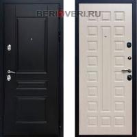 Металлическая дверь REX Премиум H ФЛ-183 Беленый дуб