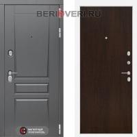 Металлическая дверь Лабиринт Платинум 05 Венге