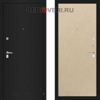 Металлическая дверь Лабиринт CLASSIC Шагрень черная 05 Венге светлый