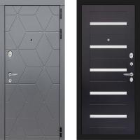 Металлическая дверь Лабиринт COSMO 01 Венге