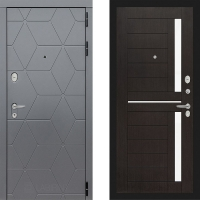 Металлическая дверь Лабиринт COSMO 02 Венге