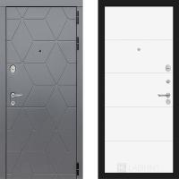 Металлическая дверь Лабиринт COSMO 13 Белый софт