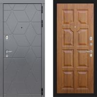 Металлическая дверь Лабиринт COSMO 17 Золотой дуб