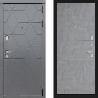Металлическая дверь Лабиринт COSMO 21 Бетон светлый