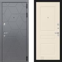 Металлическая дверь Лабиринт COSMO 03 Крем софт
