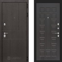Металлическая дверь Лабиринт URBAN 04 Венге