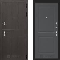 Металлическая дверь Лабиринт URBAN 11 Графит софт
