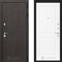 Металлическая дверь Лабиринт URBAN 11 Белый софт