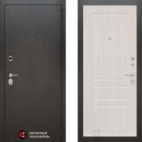 Металлическая дверь Лабиринт SILVER 03 Сандал белый