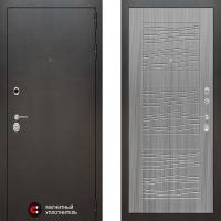 Металлическая дверь Лабиринт SILVER 06 Сандал серый