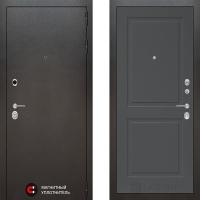 Металлическая дверь Лабиринт SILVER 11 Графит софт