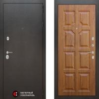 Металлическая дверь Лабиринт SILVER 17 Золотой дуб