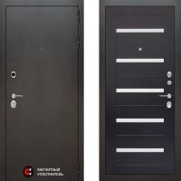 Металлическая дверь Лабиринт SILVER 01 Венге