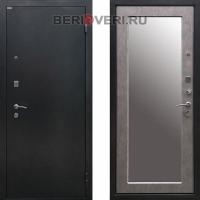 Металлическая дверь Ратибор 3К Классик Зеркало Бетон светлый